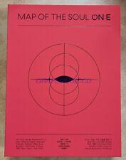 BTS MAP OF THE SOUL ON:E K-POP 3 DVD + PHOTOBOOK + PHOTO TICKET + PHOTOCARD NEW