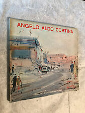 GALLERIA D'ARTE CORTINA 1971 CATALOGO OPERE ANGELO ALDO CORTINA PITTURA