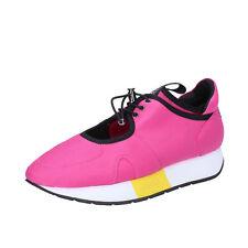 scarpe donna LIU JO 35 EU sneakers fucsia tessuto BT276-35 1cabbeff332