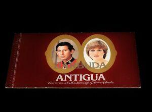 Vintage Stamp, BOOKLET, BARBUDA ANTIGUA, 1981, MNH, Charles & Diana Wedding