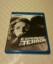 Experiment in Terror (1962) Limited Edition - Twilight Time - Blu-ray - OOP