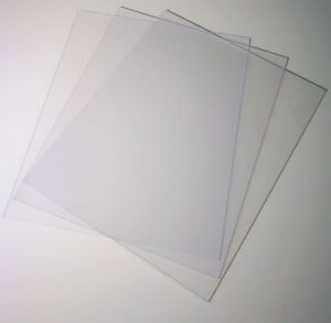 Perspex, 8 x 10 inch 1.2mm, Acrylic, 254 x 203 Photo Frame, Glass Replacement