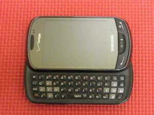 Samsung Brightside SCH-U380 100MB Black Verizon Wireless Slider Smartphone