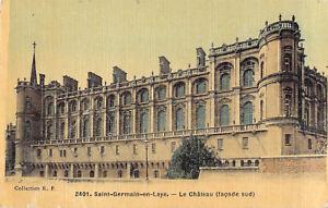 Vintage postcard Paris France Saint-Germain-en-Laye Le Chateau (Facade sud)