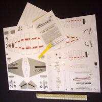 HFB 320 Hansa Airliner Wilhelmshavener Paper Modellbau Jade 1960s/70s Vintage