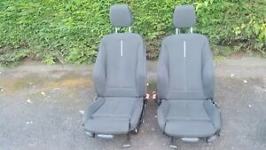 GENUINE BMW F30 F31 M SPORT SILVER STRIP FRONT SEATS O/S & N/S PAIR
