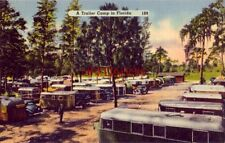 """A TRAILER PARK IN FLORIDA """"Home on Wheels"""" for hundreds of visitors"""