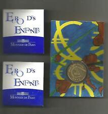 FRANCE 2002  PREMIÈRES PIÈCES ARGENT - OR - CUPRONICKEL EURO DES ENFANTS