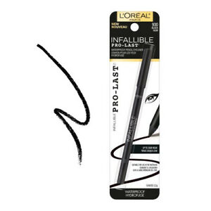 L'OREAL Infallible Pro-Last Waterproof Pencil Eyeliner - Black (Free Ship)