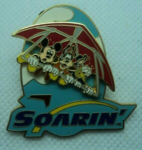 WDW Soarin' Mickey/Goofy/Donald Slider Version Pin 2008