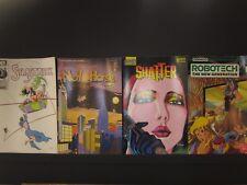 4 comics,#6 Starstruck,#10 Neil the Horse,#2 Shatter,3 Robotech New Genereration
