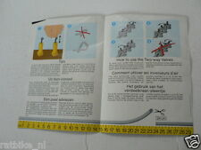 LEGO BROCHURE FLYER CATALOG TOYS 1985 PNEUMATIC DUTCH 2 PAGES 137