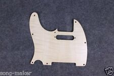 TELE electric Guitar pickguard Maple wood Left Hand Telecaster 3 layer wood