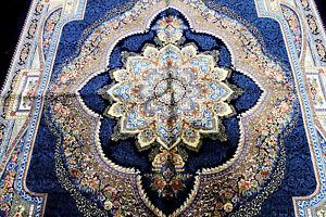 5X8 EXQUISITE NEW 1000KPSI HQ POWER LOOMED ART SILK BENAM TABRIZZ TURKISH RUG