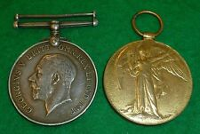 WWI First World War Navy Medal Pair A. Bateman Able Seaman Royal Navy
