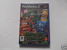 BUZZ JUNIOR MONSTER RUMBLE for PLAYSTATION 2 with BUZZERS