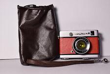 CHAIKA 2 Red body Soviet / Russian 35mm Half-Frame Camera, Industar-69 (2.8/28)