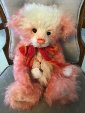 Charlie Bears STRAWBERRY CHEESECAKE 2011 Non UK Isabelle Mohair FREE US SHIPPING