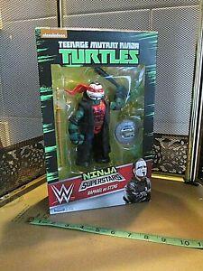 wwe tmnt NINJA SUPERSTARS RAPHAEL as STING teenage mutant ninja turtles wrestler