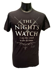 HOT TOPIC Game Of Thrones NWT Black White The Night's Watch T-shirt Tee M Swords