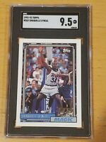 1992 Topps #362 Shaquille O'Neal SGC 9.5 Newly Graded RC Rookie PSA BGS