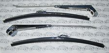 """1964-1972 GM Wiper Arms & Blades. 15"""". Original Style 4 Piece Kit. Free Shipping"""