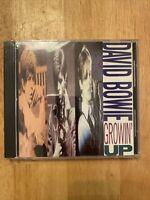 David Bowie Growin' Up US Rykodisc Promo CD Still Sealed