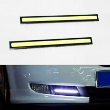 2 x super Bright COB led flat drl daytime running lights fog lights