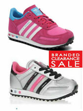adidas Leather Upper Shoes with Laces for Girls