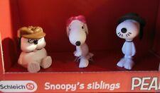 "Schleich  22058  PEANUTS  "" Scenery Pack Snoopy's siblings ""  NEU - Topseller"