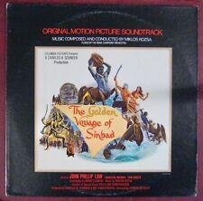 Le Voyage fantastique de Sinbad 33 tours  Miklós Rózsa 1974