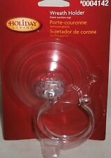 Holiday Living  GIANT SUCTION CUP  Wreath Holder