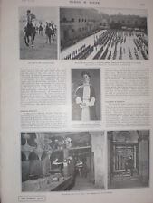 Printed photos St Paul's London electric light workshop and switchboard 1902
