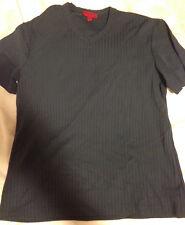 Mens BCBG V-Neck T-Shirt Size M Blue