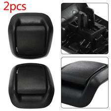 Right + Left Hand Front Seat Tilt Handles Black For FORD Fiesta MK6 2002-2008