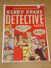 KERRY DRAKE DETECTIVE CASES #13 VG+ (4.5) HARVEY COMICS APRIL 1949