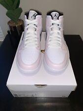 New listing Nike Air Jordan 1 Mid Barely Rose Pink Sz 9 Wmns / 7.5 Men BQ6472-500 W/Receipt
