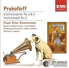 Prokofiev - Violin Concertos Nos. 1 & 2 / Frank Peter Zimmermann