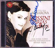 Vesselina Kasarova & Juan Diego Florez firmato Rossini Arias CD Armida Otello