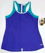 32cf7f80ff643e Avia Active Workout Tank Top Semi-Fitted Womens Singlet Blue Teal