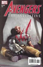 Avengers Comic Issue 6 The Initiative Modern Age First Print 2007 Dan Slott Uy
