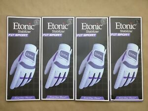 (4 Pack) Ladies Etonic Stabilizer F1T Sport Llh Gloves Women's Left Hand Large