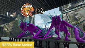 ark pc pve 835% Base Melee Candy Lightning Wyvern Male/Female