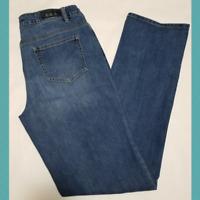 Buffalo Boulevard Medium Wash Mid Rise Straight Leg Stretch Jeans | Women's 10