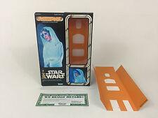 """Custom Vintage Star Wars 12"""" Insertos + caja holográfica Princesa Leia Holograma"""