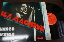 "JAMES BROWN - Sex Machine, LP 12"" SPAIN 1984"