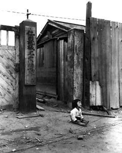 New Korean War Photo: Child Cries in Street After Invasion of Inchon - 6 Sizes!