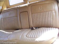 BROUGHAM REAR BENCH SEAT OEM USED ORIG 1987 CADILLAC FLEETWOOD RWD