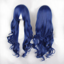 "39.4""Women Long Cruly 17 Colors HighTemperature Middle Part Anime Cosplay Wig"