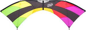 HQ MOJO Quad Line High Performance Trick Revolution Stunt Kite 4 Line Rainbow